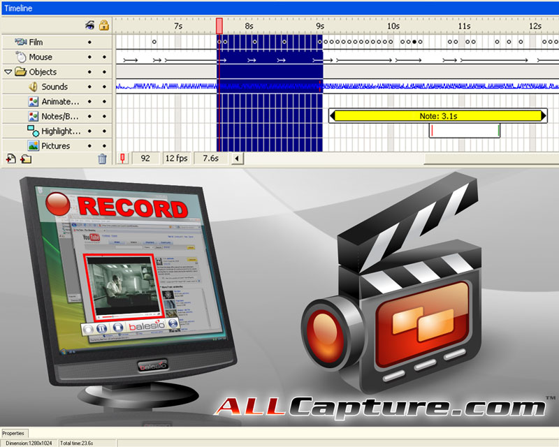 Click to view ALLCapture Enterprise 3.0 screenshot